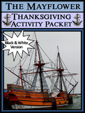 Thanksgiving History Activities: The Mayflower Activity Pa
