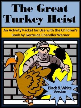 Thanksgiving Reading Activities: The Great Turkey Heist Activity Packet