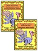 Thanksgiving Math Activities: Turkey Tail Feathers Math Puzzles Bundle - B/W