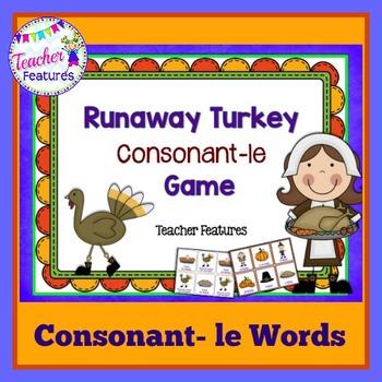 Thanksgiving Games: Consonant -le Words