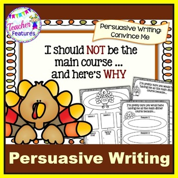 Thanksgiving Turkey   PERSUASIVE WRITING   Persuasive Writing Graphic Organizers