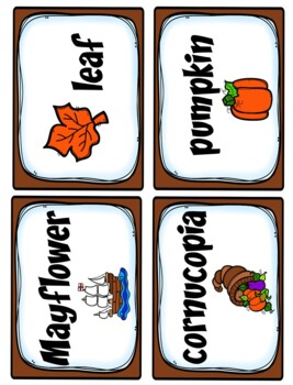 Thanksgiving Activities Literacy and Math