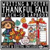 Thanksgiving Writing Lapbook