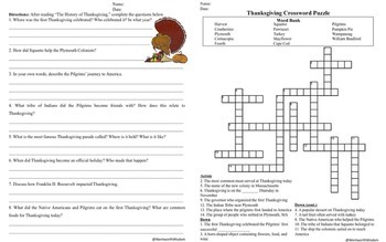 Thanksgiving Writing Thanksgiving language arts Thanksgiving Activities