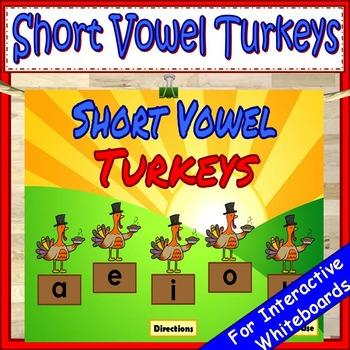 Short Vowels Kindergarten First Grade
