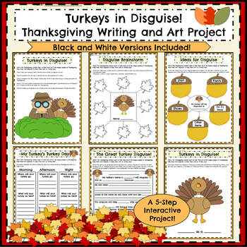 2nd and 3rd Grade Thanksgiving Activities