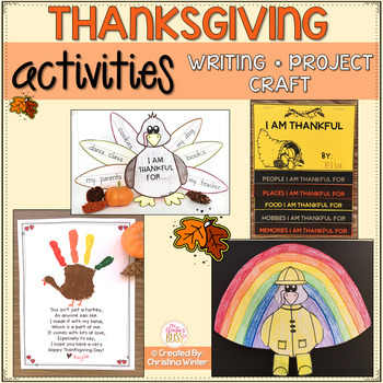 Thanksgiving Activities including Turkey in Disguise