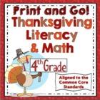 Thanksgiving Activities - 4th Grade