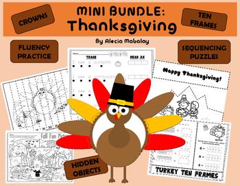 Thanksgiving Activities: A Mini Bundle
