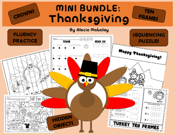 Thanksgiving Activities: A Mini Bundle