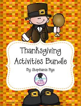 Thanksgiving Activities Bundle