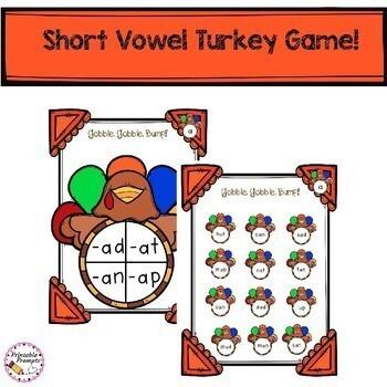 First Grade Thanksgiving Activities Bundle