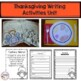 First Grade Thanksgiving Activities Bundle