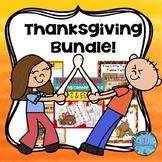 Thanksgiving Activities Bundle for PK, Kindergarten and First Grade