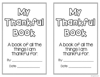Thanksgiving Activities Bundle: Interactive Read Aloud & Thankful Writing Book