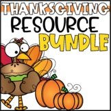 Thanksgiving Activities Bundle for 2nd & 3rd Grade