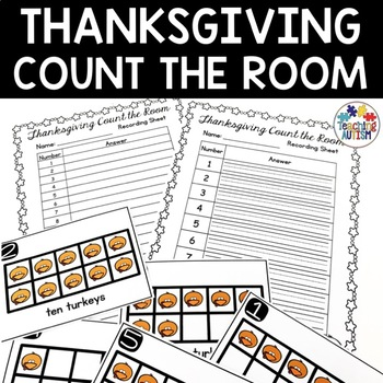 Thanksgiving Activities - Count the Room