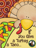 Thanksgiving Activities ~ Easy Reader Laura Numeroff Style