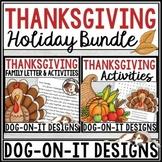 Thanksgiving Activities | Editable Letter From the Teacher
