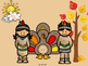 Thanksgiving Reading and Math Activities ~FREEBIE~