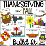 Thanksgiving Math: Linking Cube Pictures