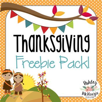 Thanksgiving Activities (Freebie!)