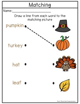 Thanksgiving Activities Games and Centers - 50+ pages