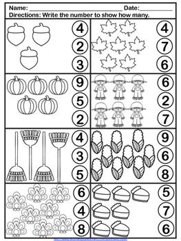 Thanksgiving Activities Kindergarten