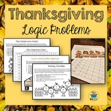 Thanksgiving Activities: Logic Problems