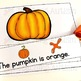 Thanksgiving Activities | Sentence Matching Adapted Book for Special Education