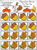 Thanksgiving Activities: Squirrels & Acorns Tic-Tac-Toe Thanksgiving Game Bundle