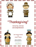 Thanksgiving: Second Grade Reading, Comprehension and Activities