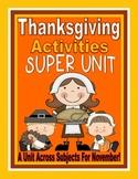 Thanksgiving Unit: Thanksgiving Activities, Thanksgiving C