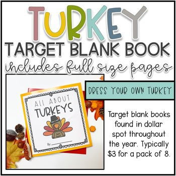 Thanksgiving Activities Target Blank Book