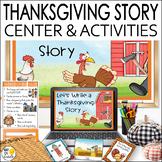 Thanksgiving Writing Activities Digital and Print