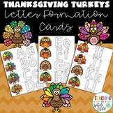 Preschool Thanksgiving Activities: Turkey Alphabet Letter