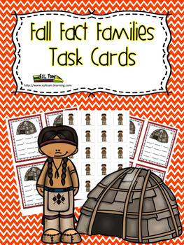 Thanksgiving Math: Wigwam Fact Families