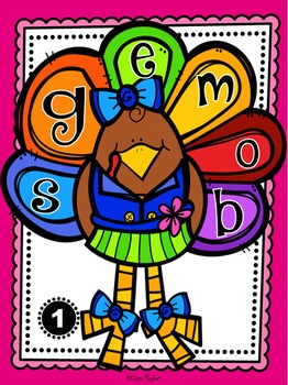Thanksgiving Activities ~ Word Work and Literacy