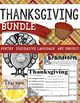 Thanksgiving Activities Writing Poetry / Figurative Language / Art Project