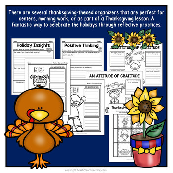 Thanksgiving Activities: I am Thankful: An Attitude for Gratitude