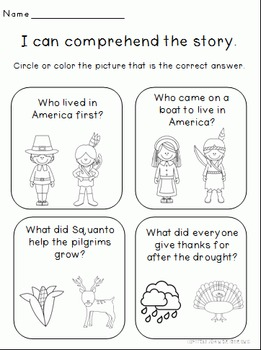 Thanksgiving Activities and Centers