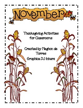 Thanksgiving Activities and Crafts