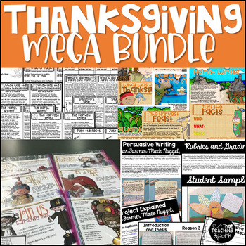 Thanksgiving Activities and Games Mega Bundle