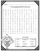 Thanksgiving Printables~ Fun Activities for the Classroom