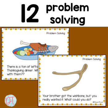 Thanksgiving Activities for Critical Thinking