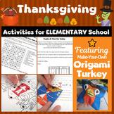 Thanksgiving for Elementary School | Thanksgiving Fun Escape Room