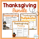 Thanksgiving Activities for Fourth Grade