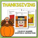 Thanksgiving Activities for Kindergarten - Thanksgiving Math Worksheets