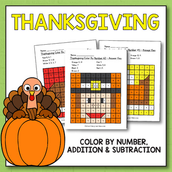 Thanksgiving Activities for Kindergarten - Thanksgiving Math Worksheets