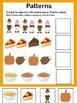 Thanksgiving Activities for PreK and Kindergarten {Literacy and Math Skills}